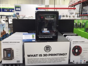 3D Printer at SAMS