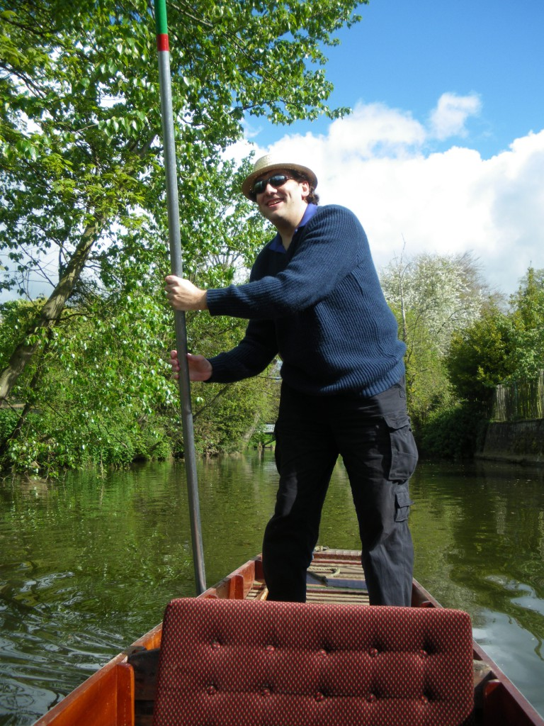Punting on the Cherwell