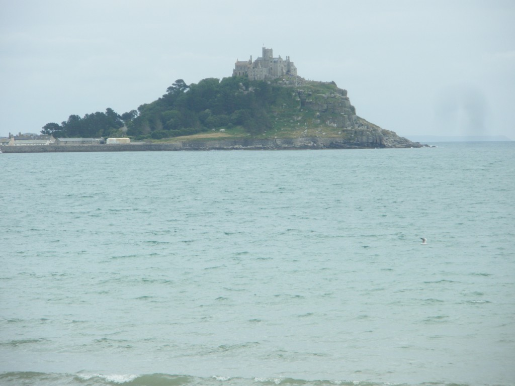 This is St Michael's Mount near Marazion, Cornwall, a couple of miles from Penzance (as in the Pirates of).